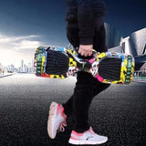 High Quality Self balancing scooter hoverboard Bluetooth LED PCB Skat with handle