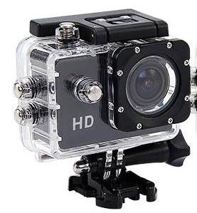 Sports Camera HD 1080P + Waterproof - New 2 inch Screen