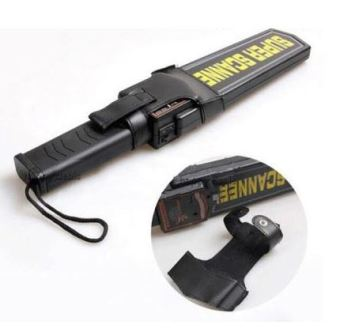 Hand Held Security Metal Detector