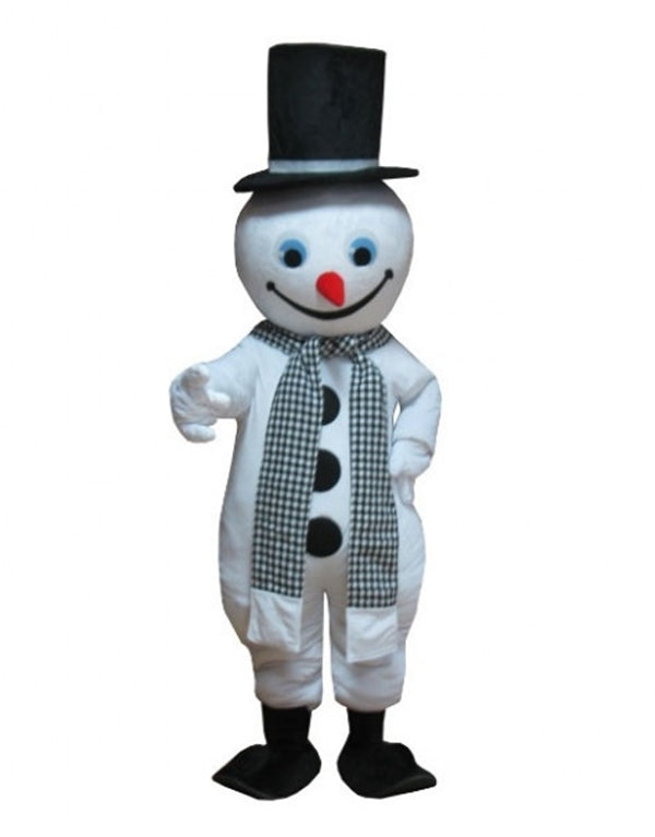 Giant Christmas Snowman Frosty Mascot Costume