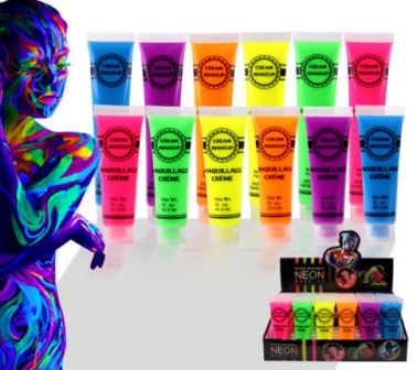 Neon Body Paint 6 Colors To Choose From