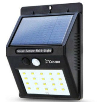 Solar Power Sensor Wall Light 20 LED Bright Wireless Security Motion