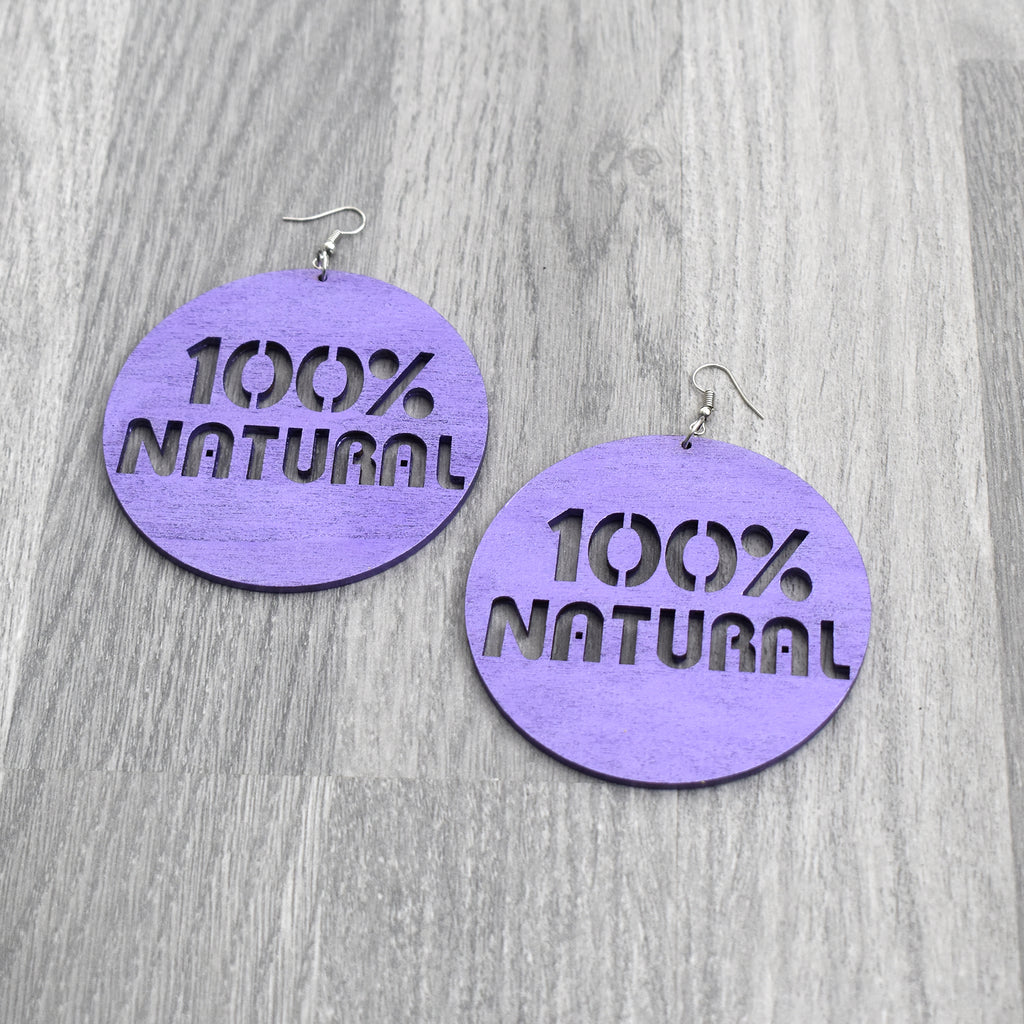 100% Natural Earring, earring - Rufina Designs
