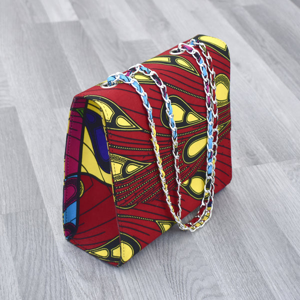 African Print handbag - Chrissy, Bags & purse - Rufina Designs