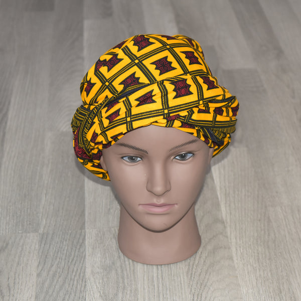 African Head Wrap - Asesedwa, Headwraps - Rufina Designs