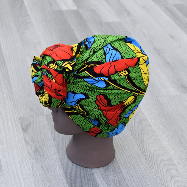 African Head Wrap - Yvette, Headwraps - Rufina Designs