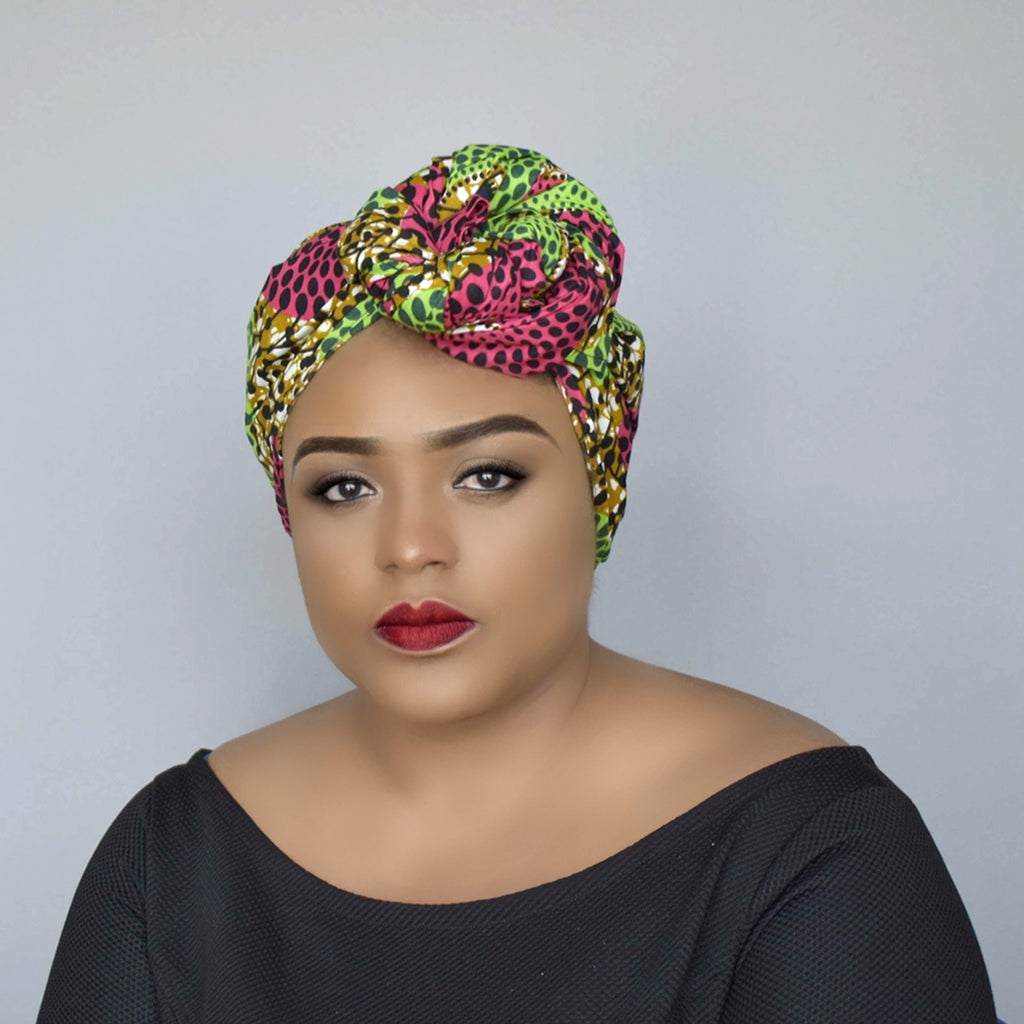 African Print Head wrap - Bisa, Headwraps - Rufina Designs