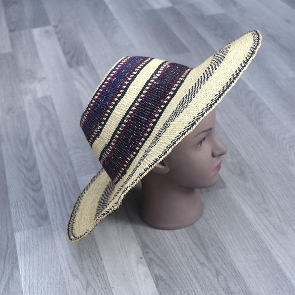 Sun hat, Bolga Straw Hat - BH002, Hats - Rufina Designs