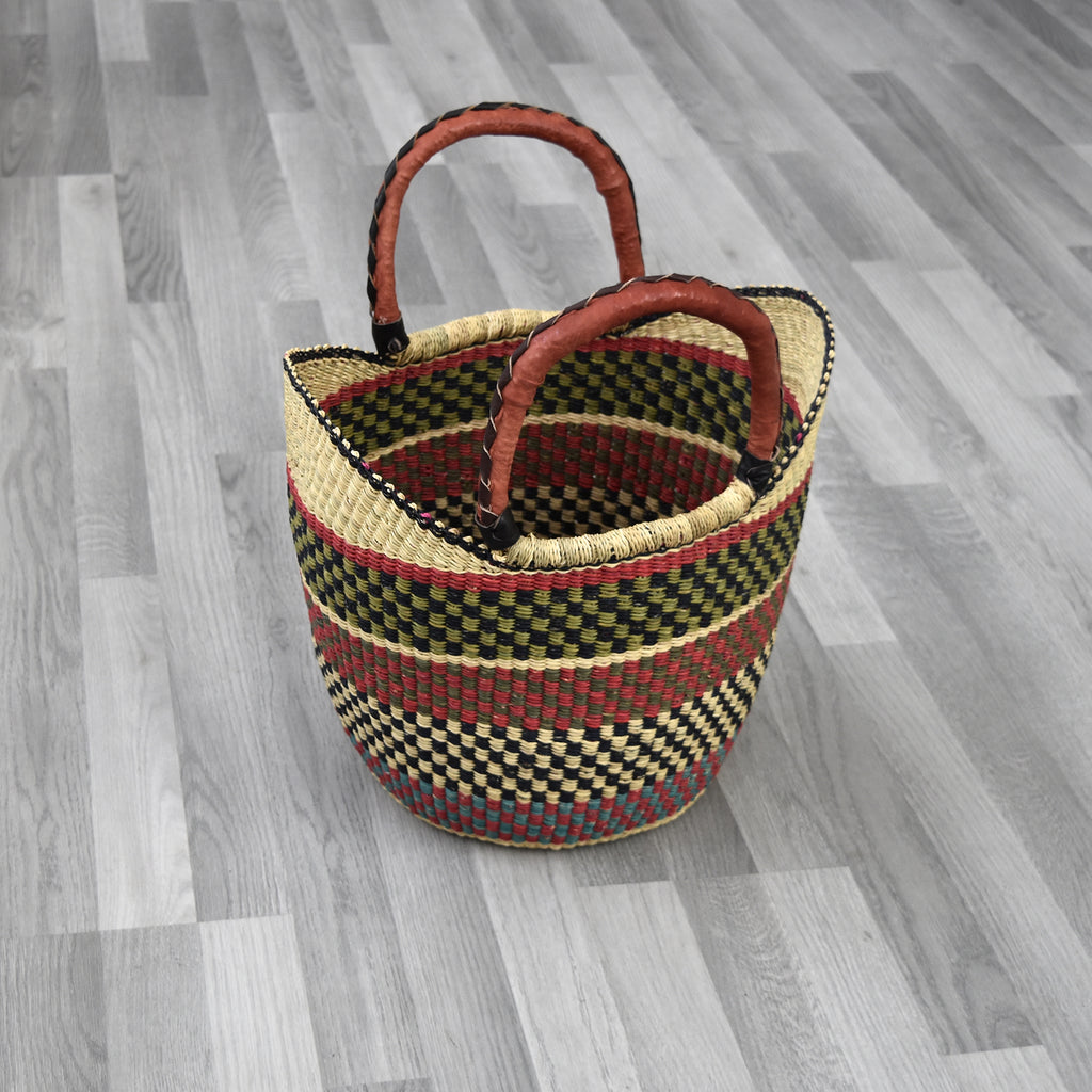 U Shopper Basket, African basket - Feli, Bags & purse - Rufina Designs