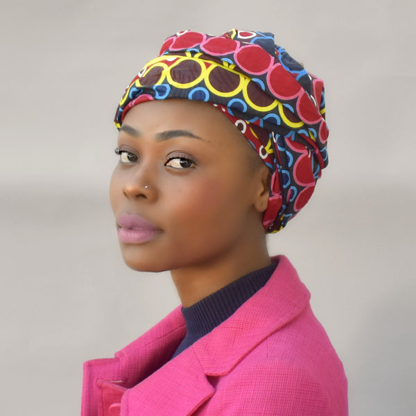 African Print Head Wrap - Monko, Headwraps - Rufina Designs