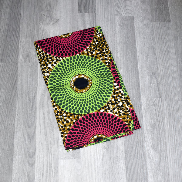 Bisa African Wax Print Head wrap, Headwraps - Rufina Designs