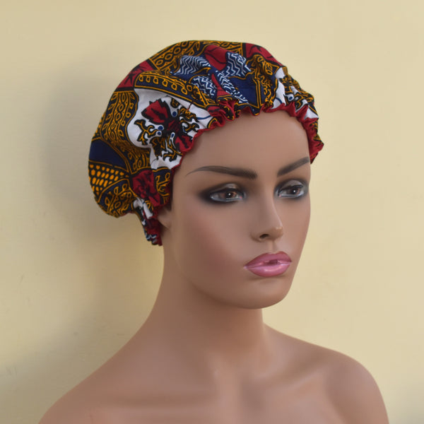 3-in-1 Satin Bonnet Headwrap - Roxi