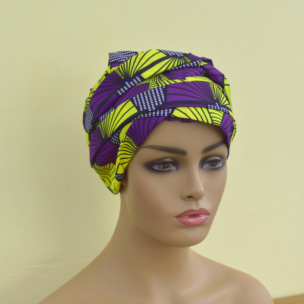 3-in-1 Satin Bonnet Headwrap - Serene