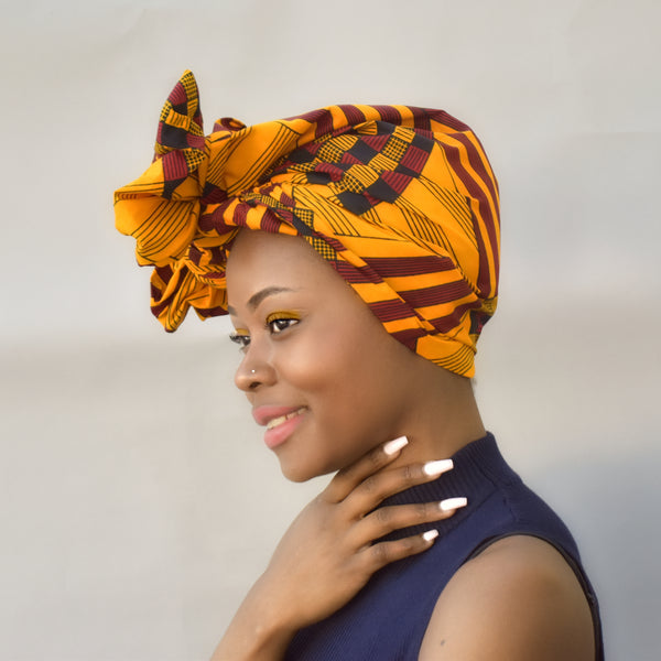 African Print Head Wrap - Suky, Headwraps - Rufina Designs