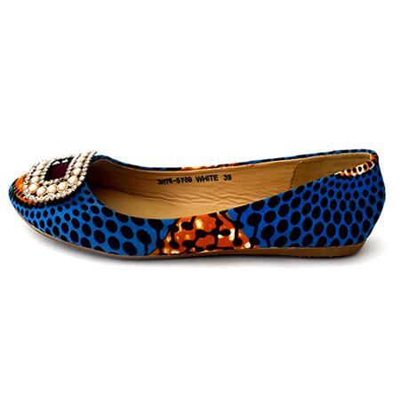 Blue Lola flats pumps, Flat shoe, Rufina, [shop_name,- Rufina