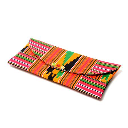 Efie Kente Envelope Clutch Purse, Bags & purse, Rufina, [shop_name,- Rufina