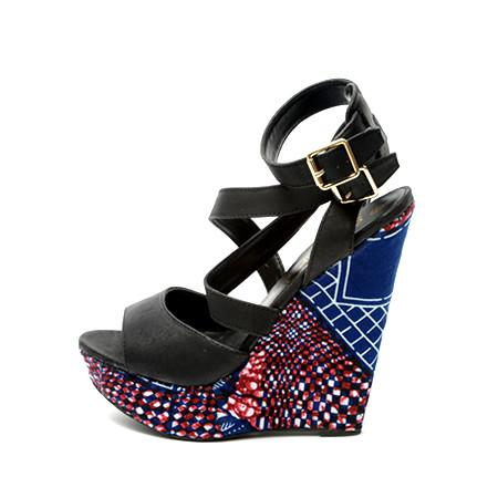 Estine open toe wedge, Wedge, Rufina, [shop_name,- Rufina