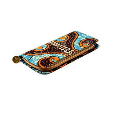 Janelle African Print Ladies Wallet, Bags & purse - Rufina Designs