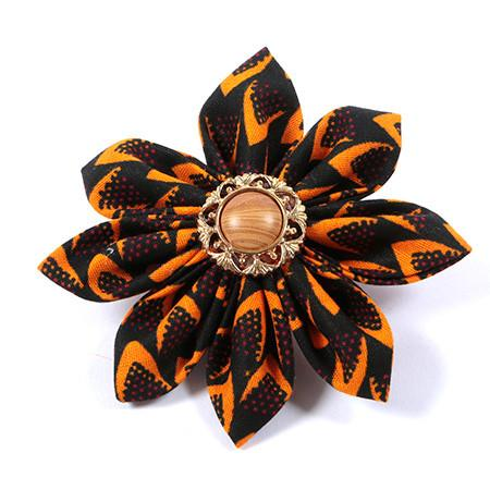 Naila flower brooch, brooch, Rufina, [shop_name,- Rufina