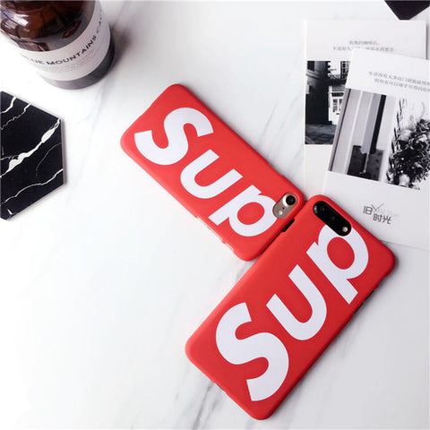 Supreme - Sup cover Red