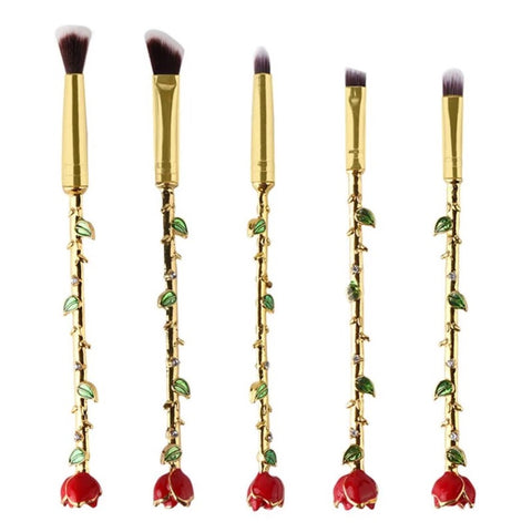 Victorian Roses Brush Set