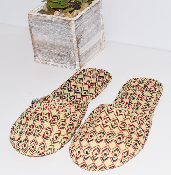 House Slippers | Diamond Sketch Mojave