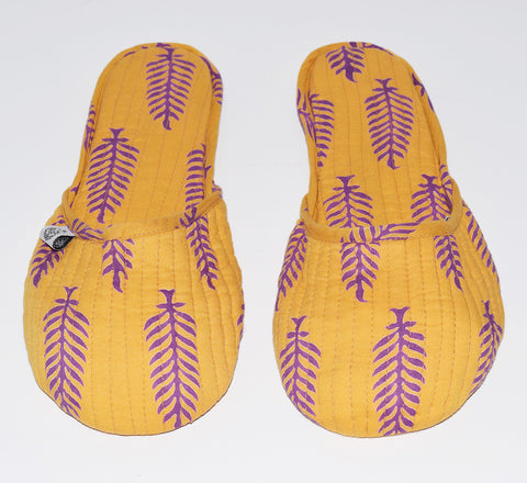 House Slippers | Orissa Marigold
