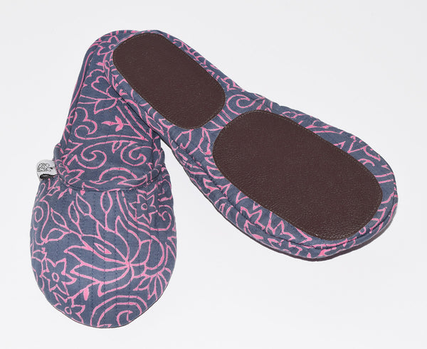 House Slippers | Sketch Floral Capri