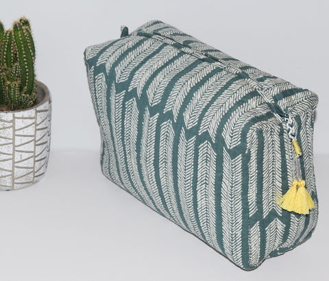 Large Waterproof Toiletry Bag | Aiko Sagebrush