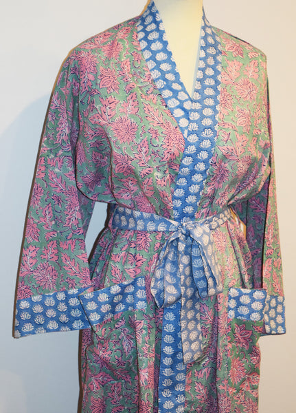 Jaipur Long Robe | Mini Lotus