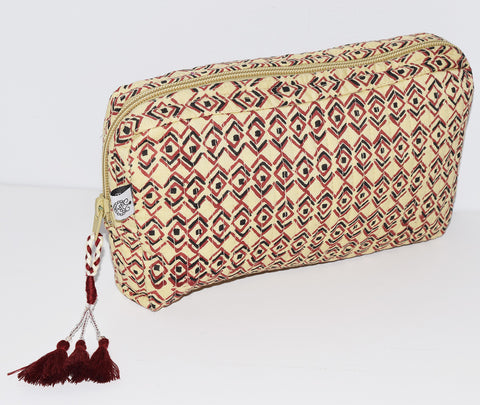 Medium Toiletry Bag | Diamond Sketch Mojave