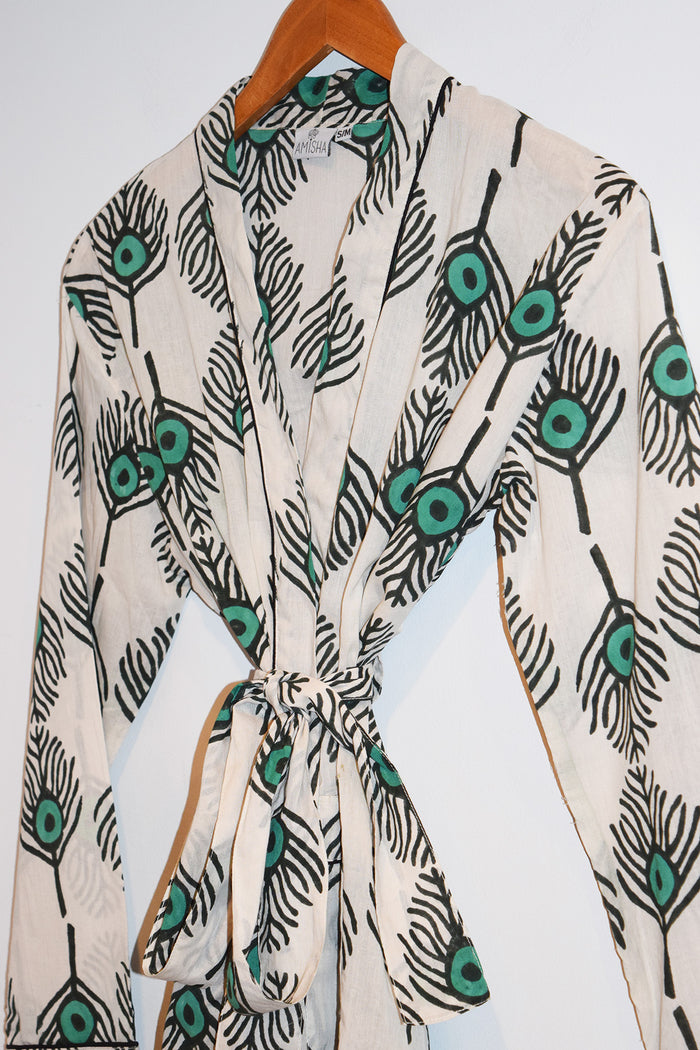 Austin Short Robe | Plumes Sea