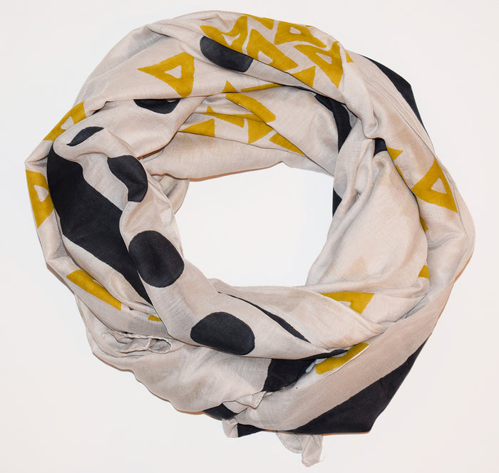 Cotton Silk Scarf | Anushka Sand