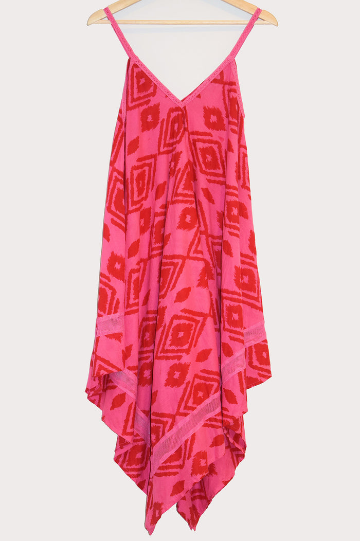 Jodi Dress | Kuta Ikat Berry
