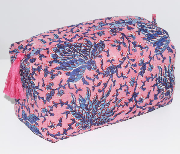 Jumbo Waterproof Toiletry Bag | Garden Floral