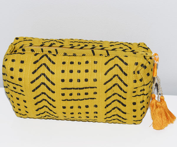 Small Waterproof Toiletry Bag | Terra Amber