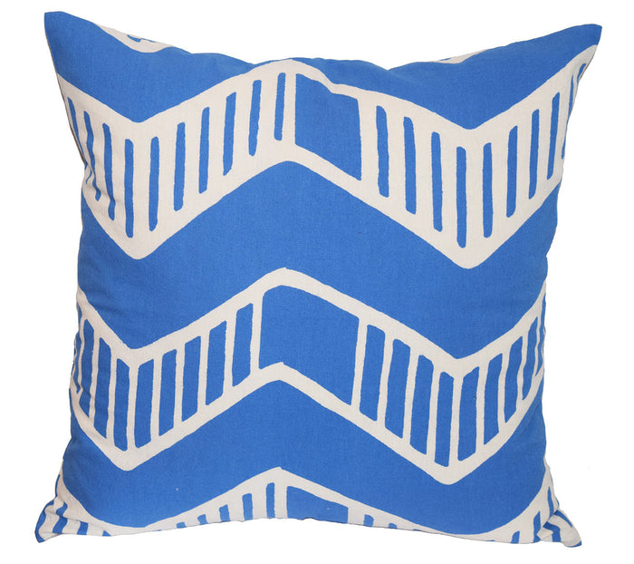 Cotton Throw Pillow | Chari Delft