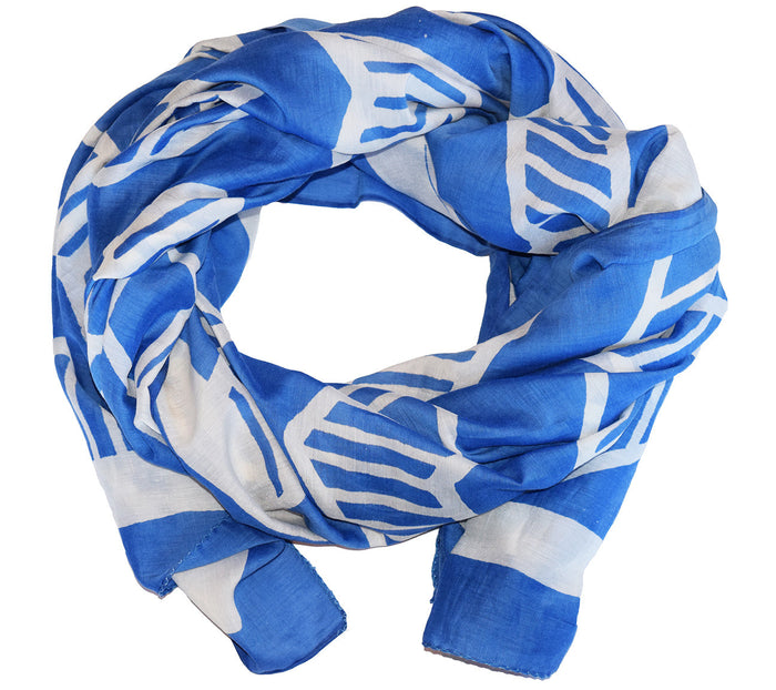 Cotton Silk Scarf | Chari Delft