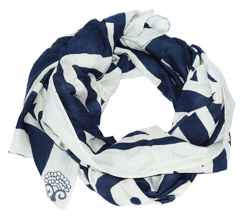 Cotton Silk Scarf | Dom Indigo