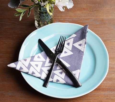 Anushka Wild Dove Napkins | Set of 4