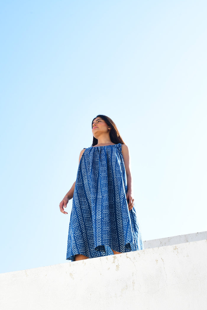 Maldives Dress | Terra Indigo