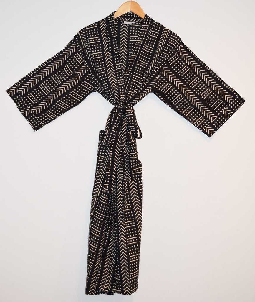 Kerala Long Robe | Terra Black