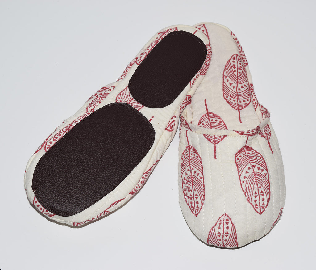 House Slippers | Feathers Clay