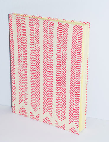 Handmade Paper Hardcover Journal | Aiko Tomato