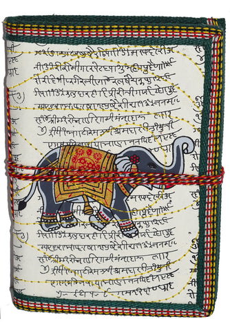 Hindi Script Elephant Journal | Cream