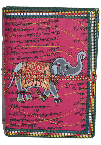 Hindi Script Elephant Journal | Fuchsia