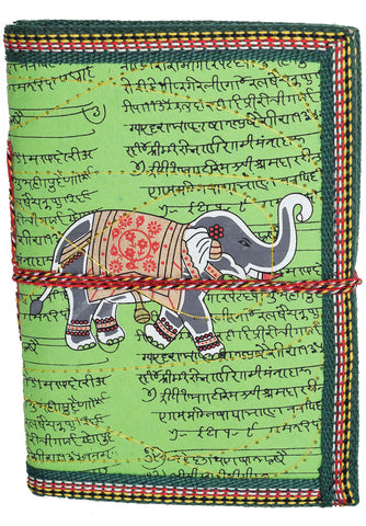 Hindi Script Elephant Journal | Green