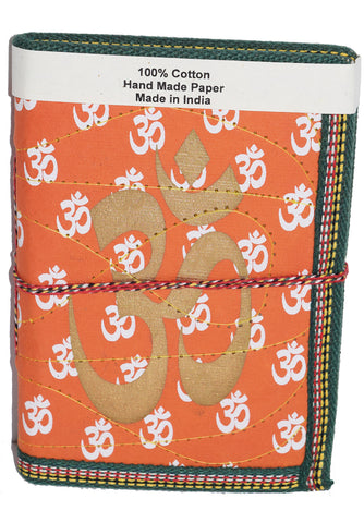 Hindi Script Big Om Journal | Orange