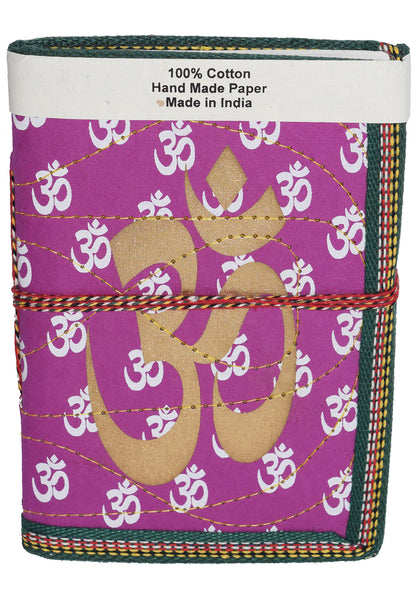 Hindi Script Big Om Journal | Violet