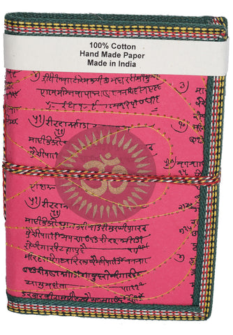 Hindi Script Om Journal | Fuchsia